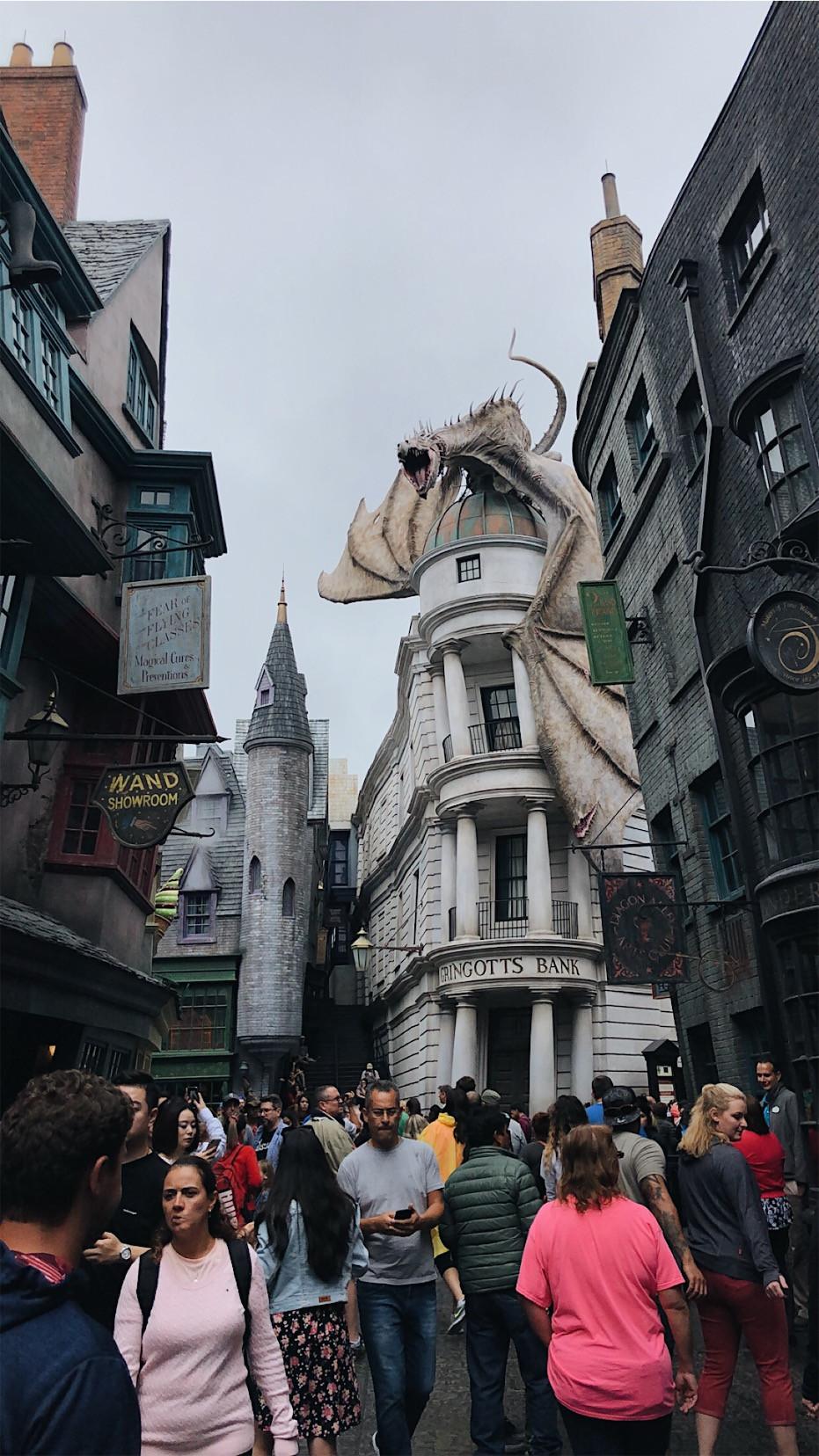 Harry Potter World, Gringot