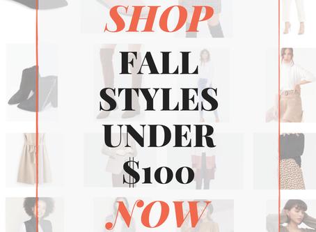 2019 Fall Fashion Round-Up