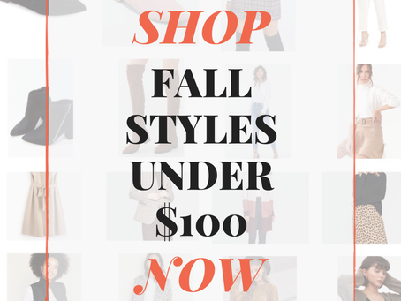 2019 Fall Fashion Round-Up