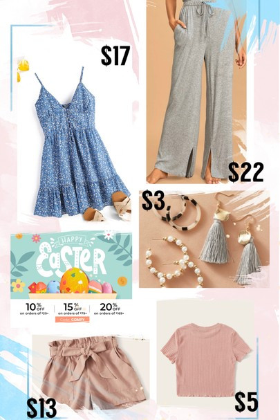 Spring Pastels from Shein