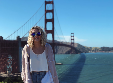 The Perfect Jean and Cardi Duo for a Chilly Day in Sunny San Francisco