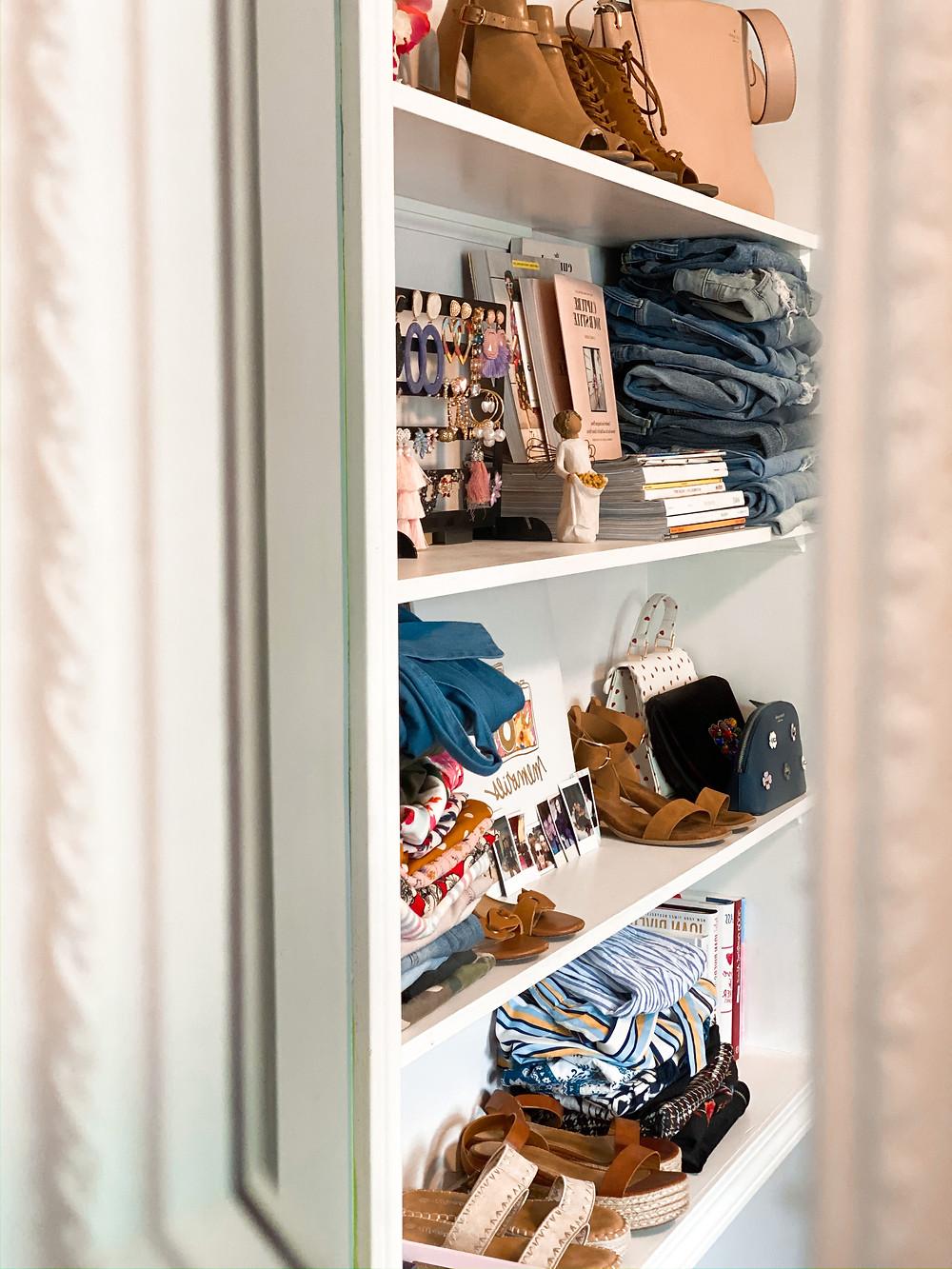 The Bleached Curl, closet, DIY, Abby Graf