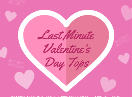 Last-Minute Valentine's Day Tops That Ship Prime