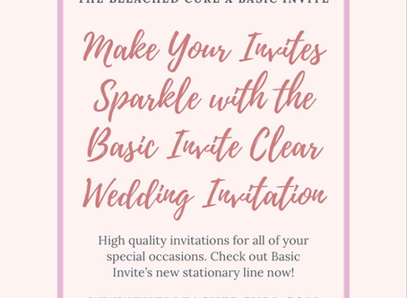 Make Your Invites Sparkle with Basic Invite's Clear Wedding Invites