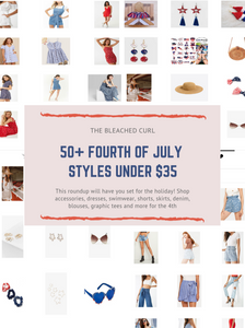 50 styles for the fourth of july under $35