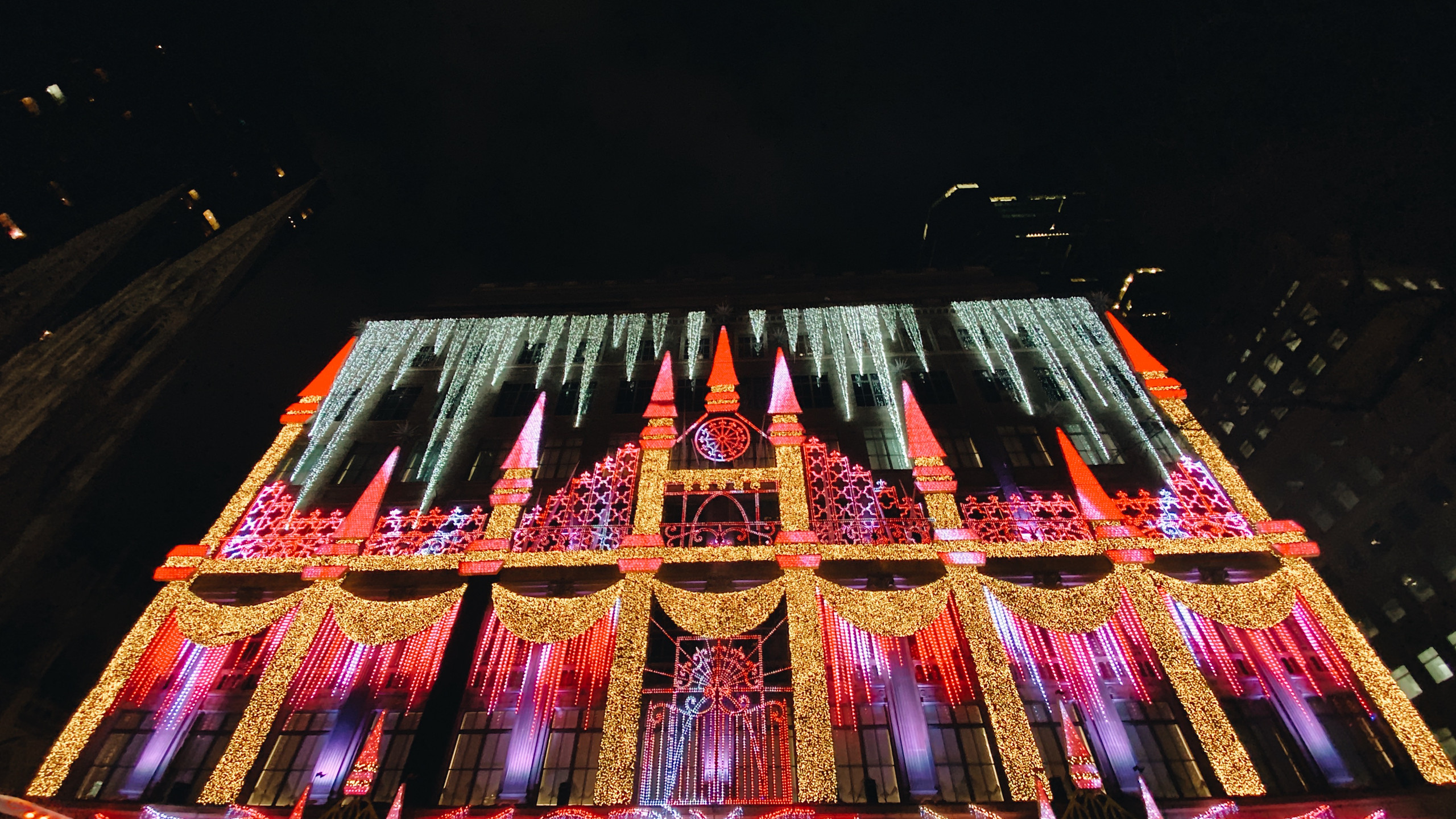 Saks Fifth Ave Light Show