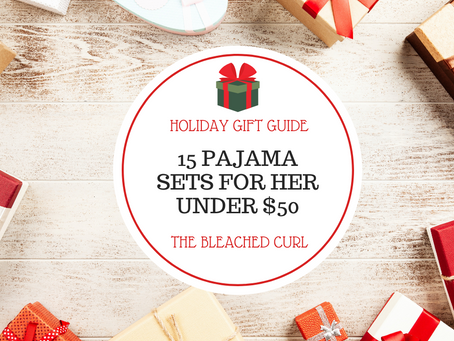 15 Pajama Sets for Her Under $50