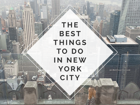 The Best Things to Do in New York City
