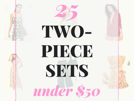 25 Two-Piece Sets Under $50