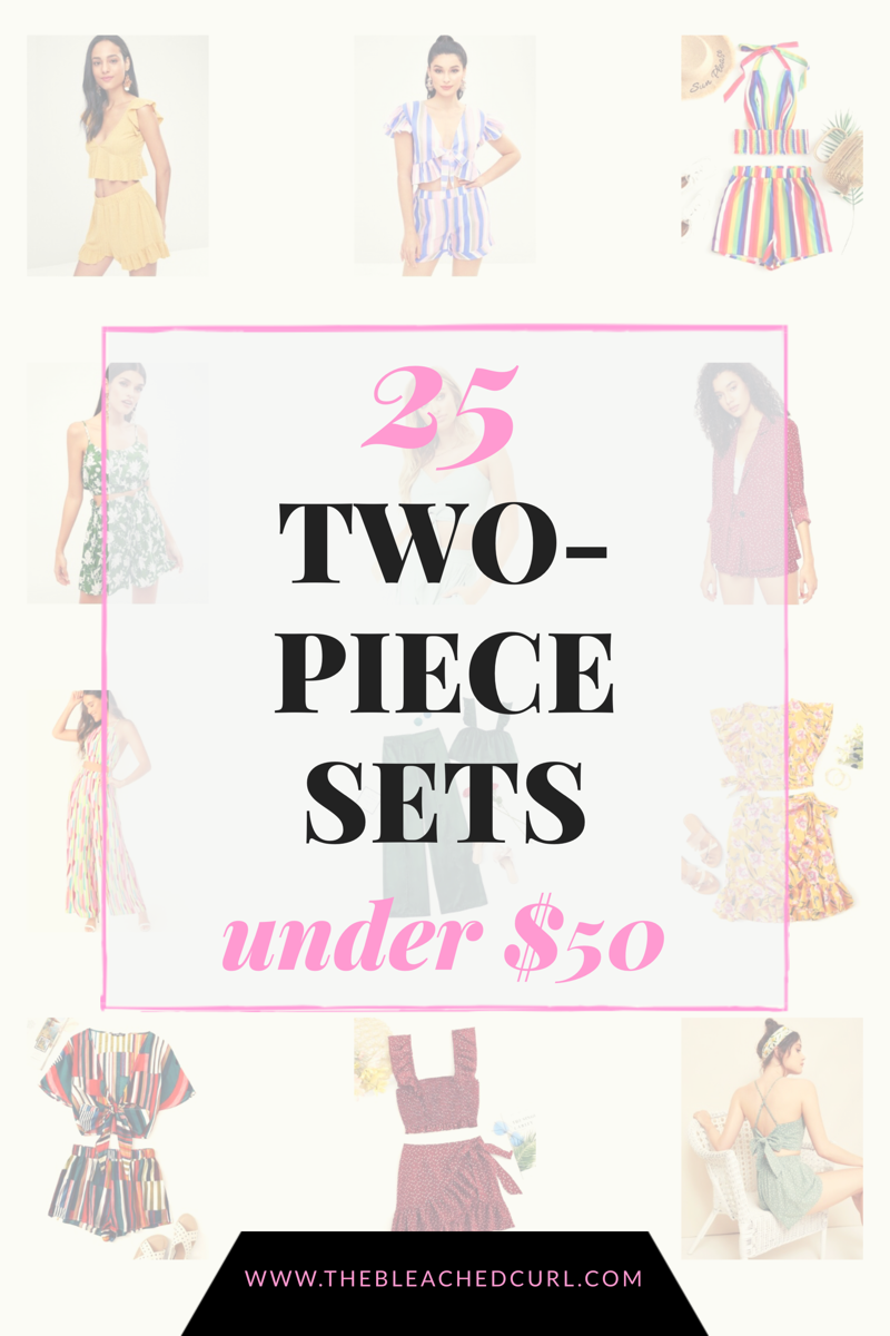 25 two piece sets under 50