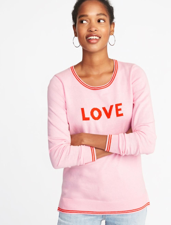 Crew Neck Sweater for Women