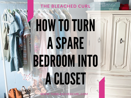 How I Transformed a Spare Bedroom Into a Closet