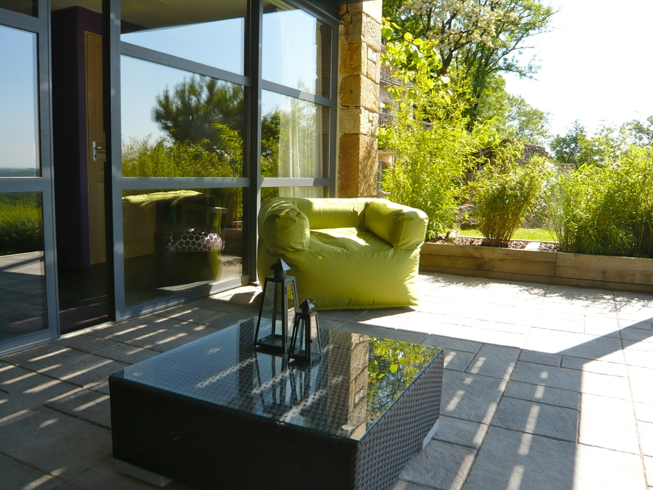Terrasse privative - accès direct