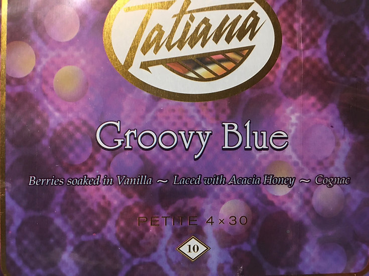 Tatiana Groovy Blue Petit 4x30 10pk