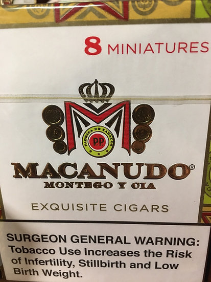 Macanudo Minis 8pk