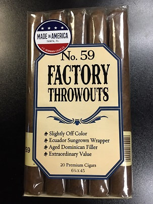 FACTORY THROWOUTS NO.59 6.25x45
