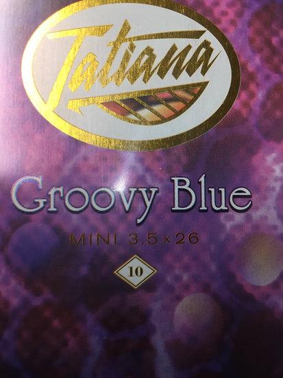 Tatiana Groovy Blue Mini 3.5x26 10pk
