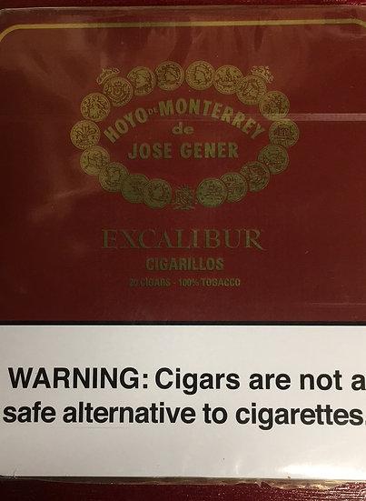 Excalibur cigarillos 20pk