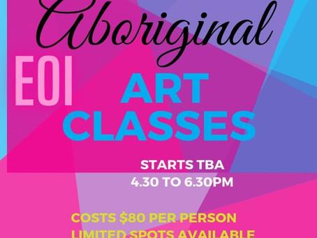 Art Auction 4 Art classes