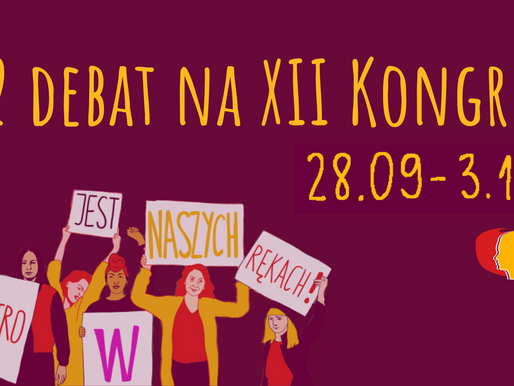 12 debat na XII Kongres - program