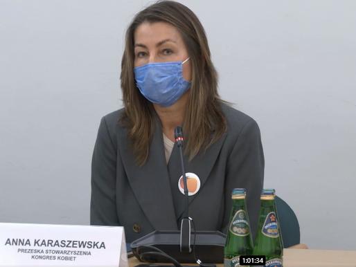 Przedstawienie projektu likwidacji luki płacowej i konsultacje w Sejmie i Senacie
