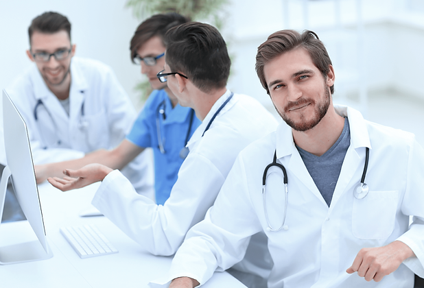 Doctors in Lab