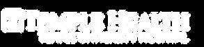 Temple Health Logo (White)