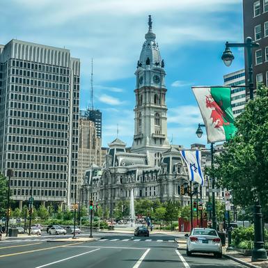 Philadelphia City Hall Street