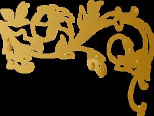 Golden Flower Vine Design.png