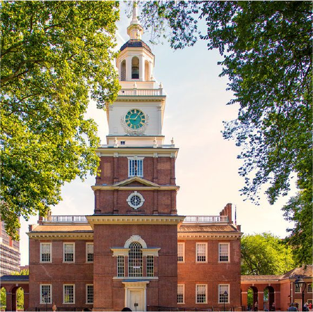 Independence Hall Afternoon