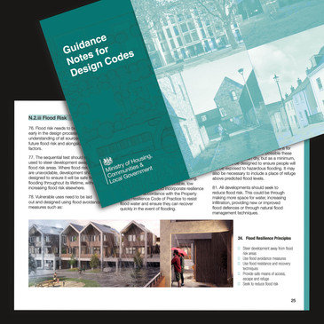 Featured in new MHCLG guidance notes for design codes