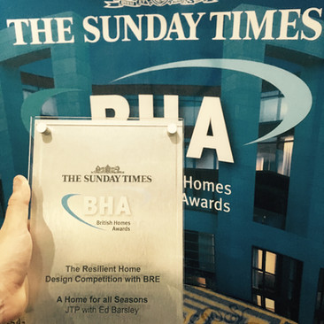Winner of the Sunday Times / British Homes Awards 'Resilient Home' Competition