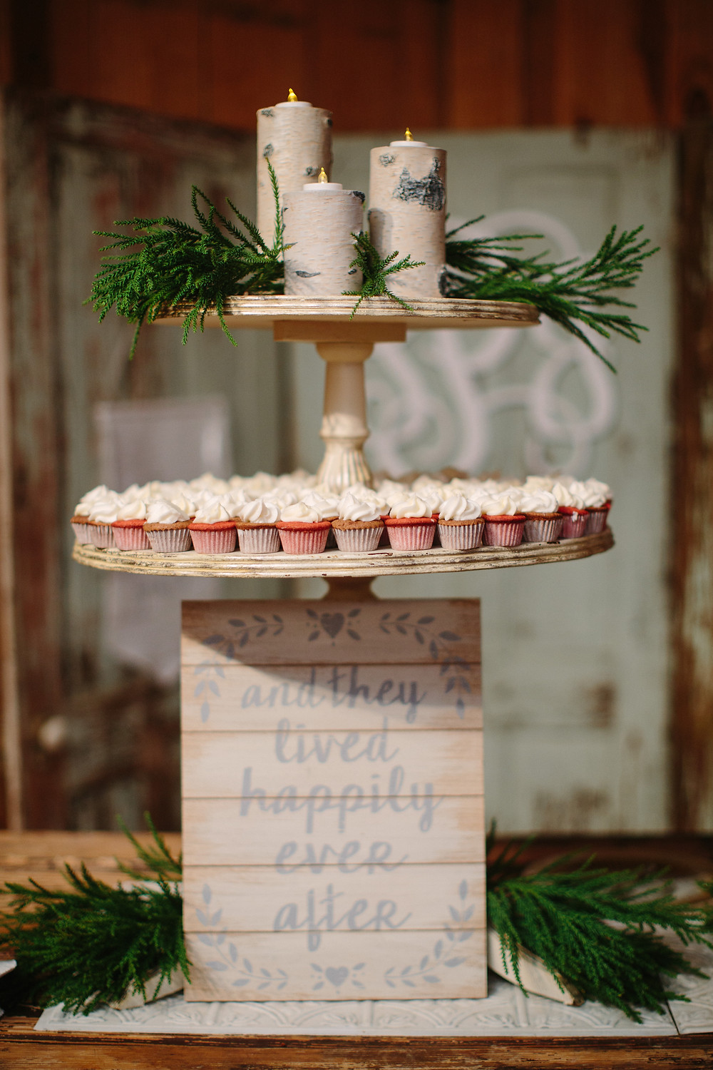 Cupcake Tower  | Two Chics Photography