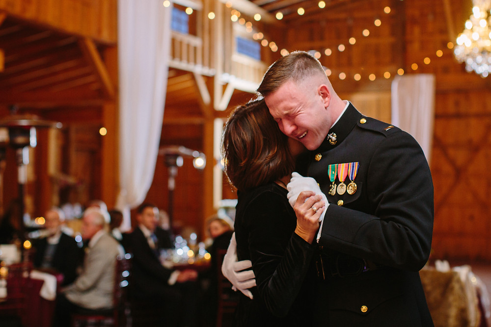 Groom Dance with his Aunt    Two Chics Photography