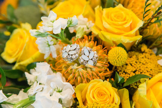 Autumn Inspired Yellow Wedding | Taylor + Nathan