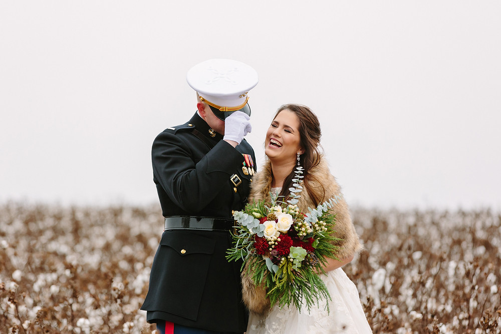Couple in cotton  | Two Chics Photography