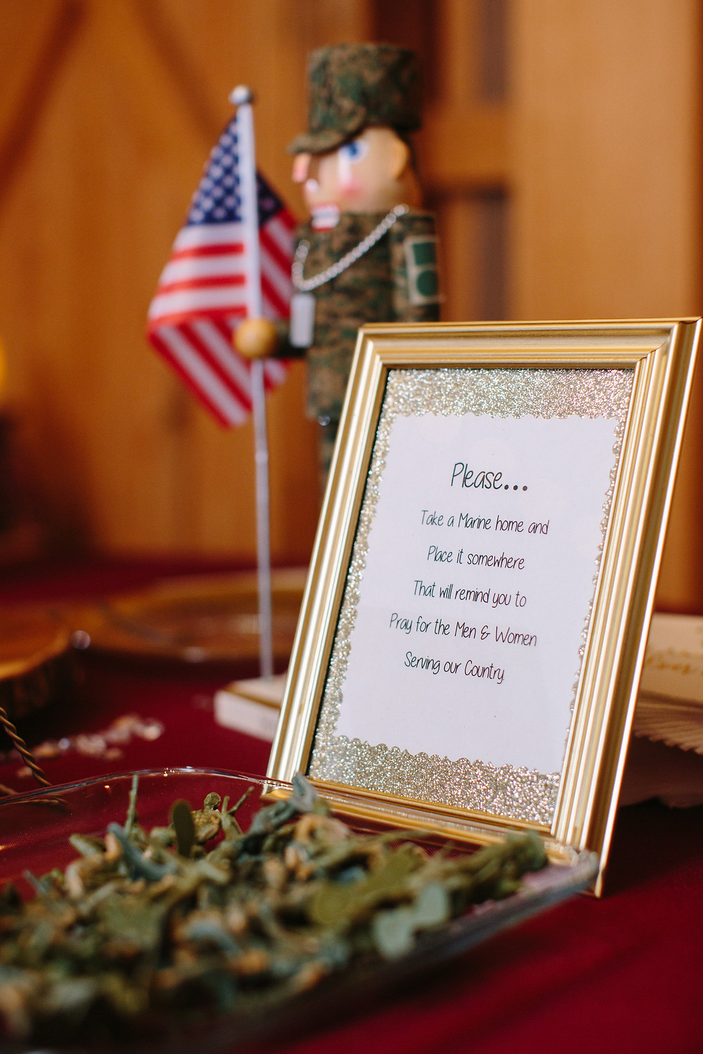 Marine Guest Favor  | Two Chics Photography