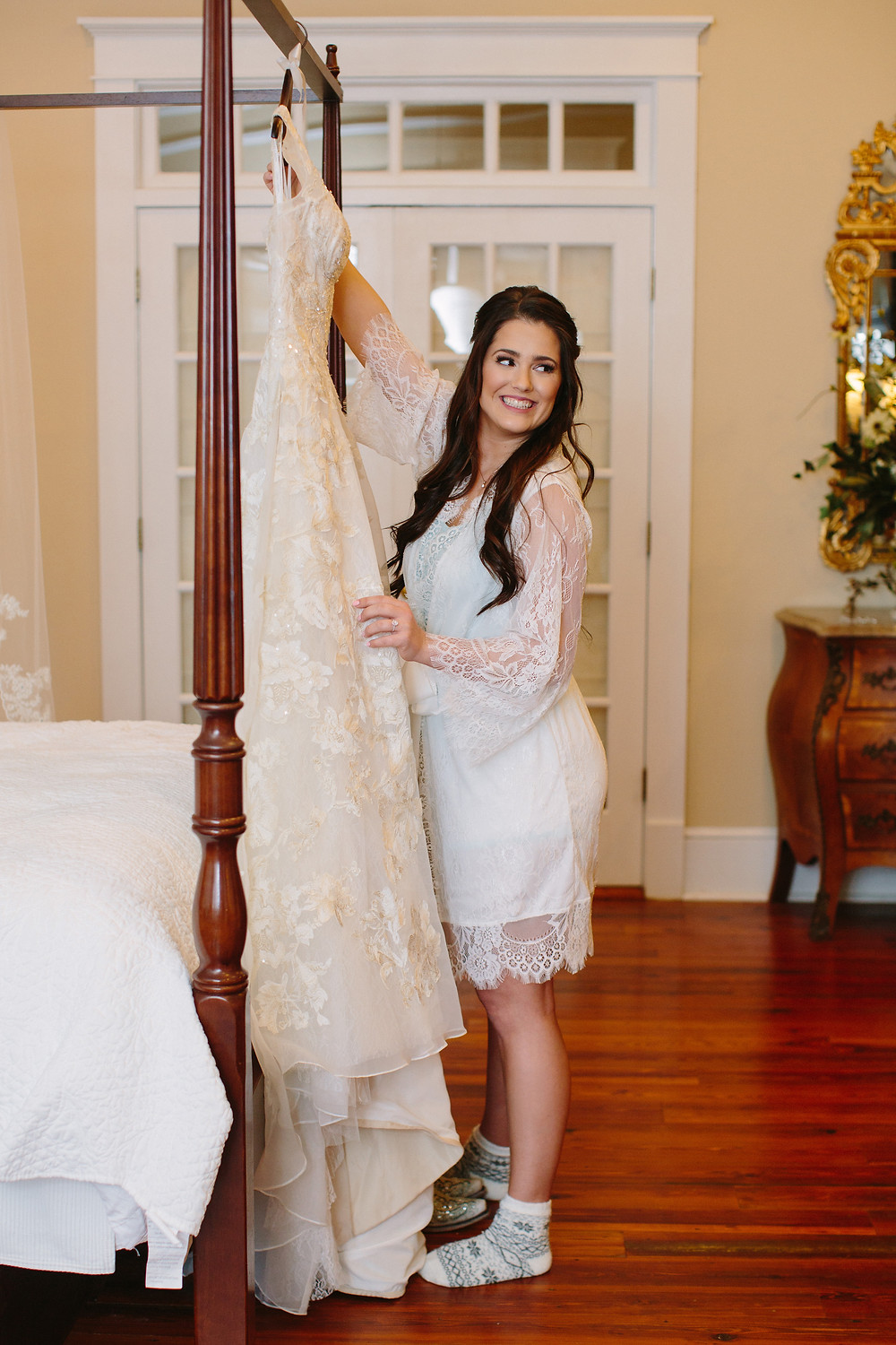 Bride and Dress | Two Chics Photography