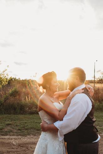 Danielle + Matt's Spring Wedding