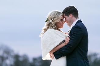 Winter Barn Wedding with Formal Flair   Libby + Alex