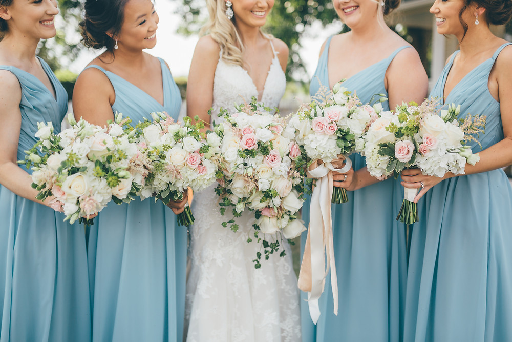 BridesmaidsBouquets(c)Amber Phinisee Photography