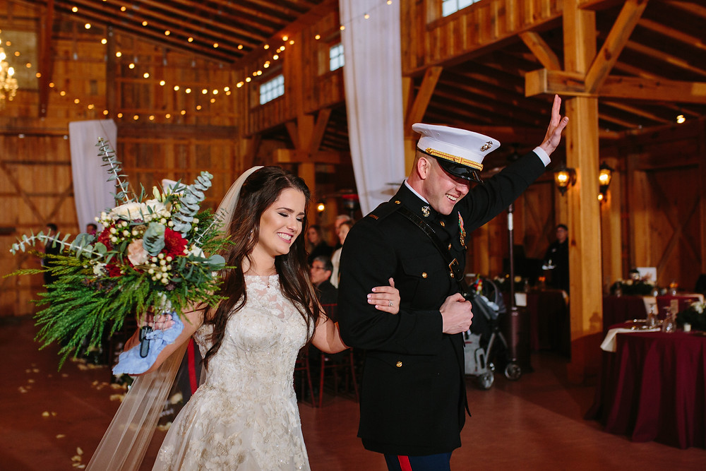 Newlywed Ceremony Exit  | Two Chics Photography