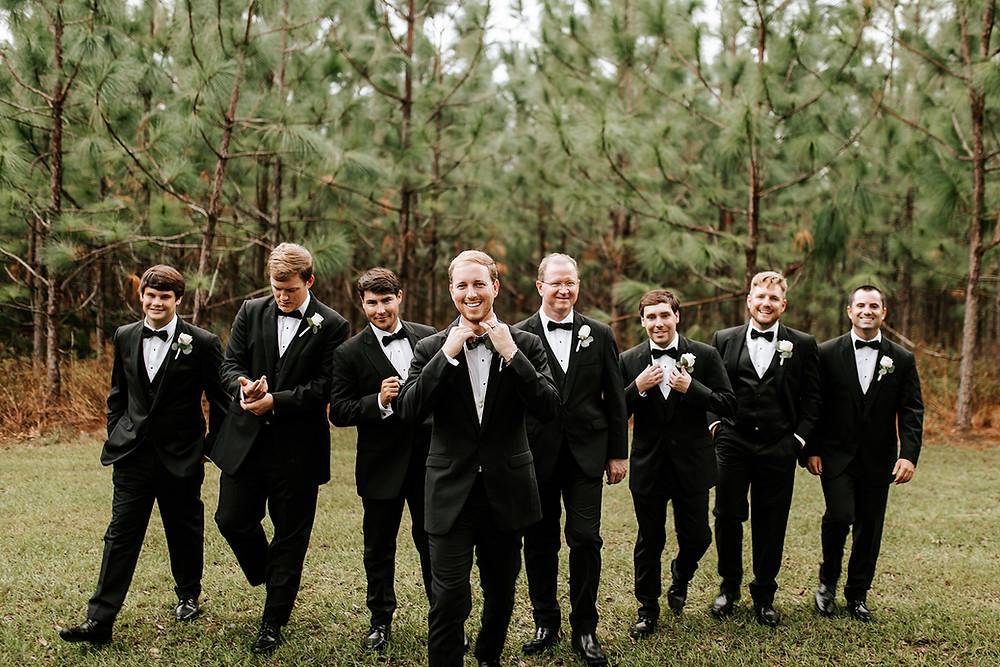 Groomsmen Candid (c) AshlynCatheyPhoto
