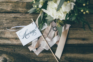 Elegant Outdoor Winter Wedding | Ashley + Jordan