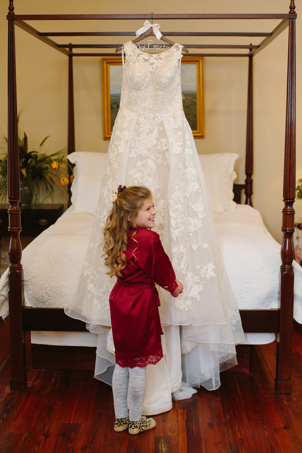 Flower Girl with dress | Two Chics Photography