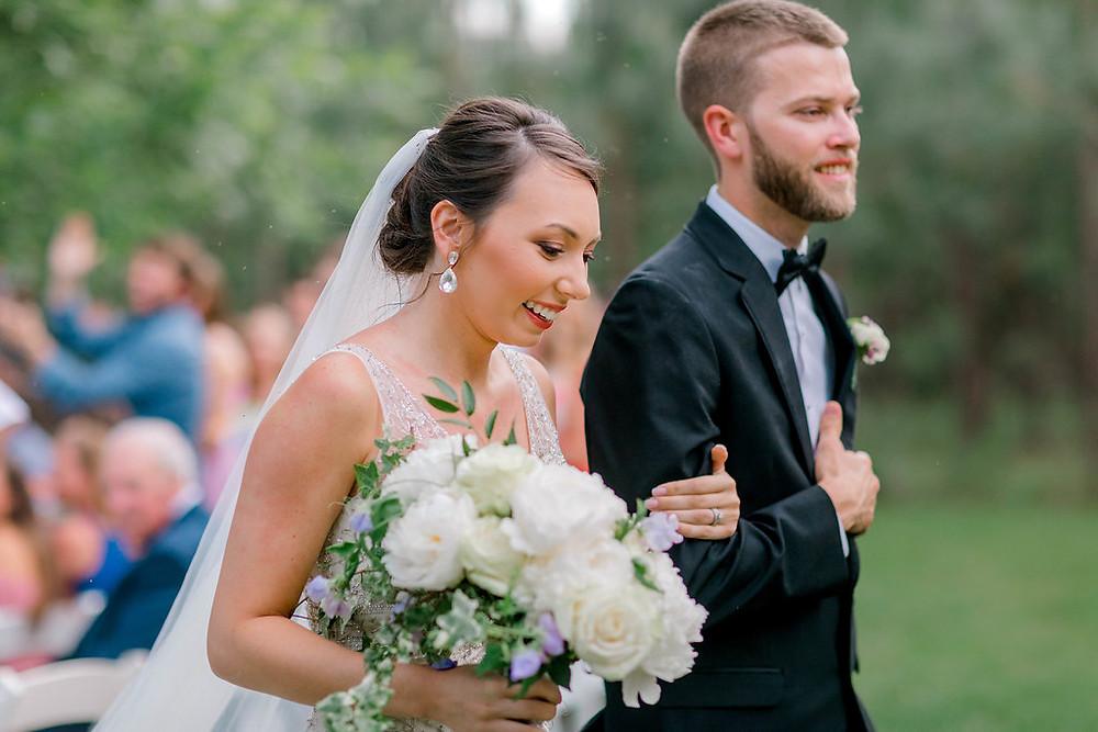 Ceremony Exit (c) MorganLeighPhoto