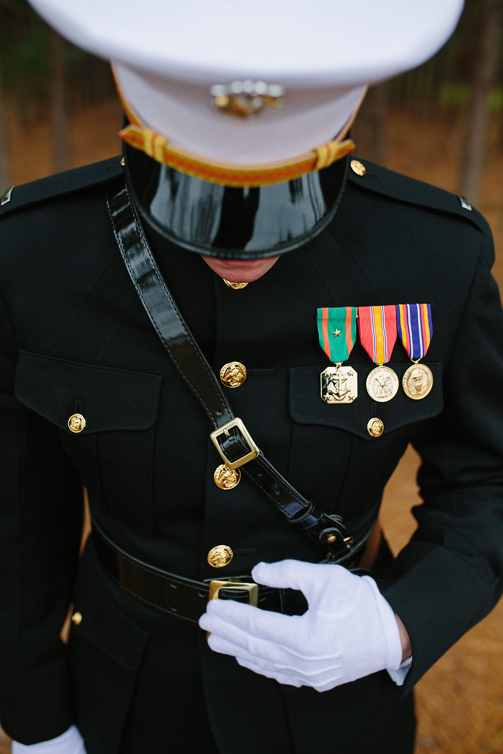 Marine Groom Details   Two Chics Photography