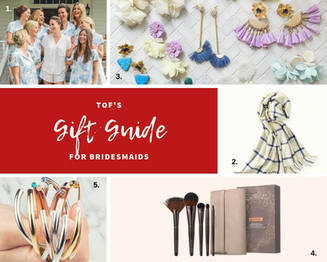 Super-Chic Bridesmaid Gift Guide | For the Modern Bride