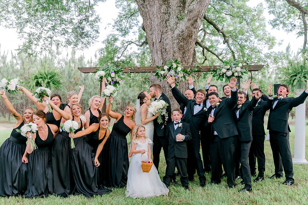 Wedding Party Fun (c) MorganLeighPhoto