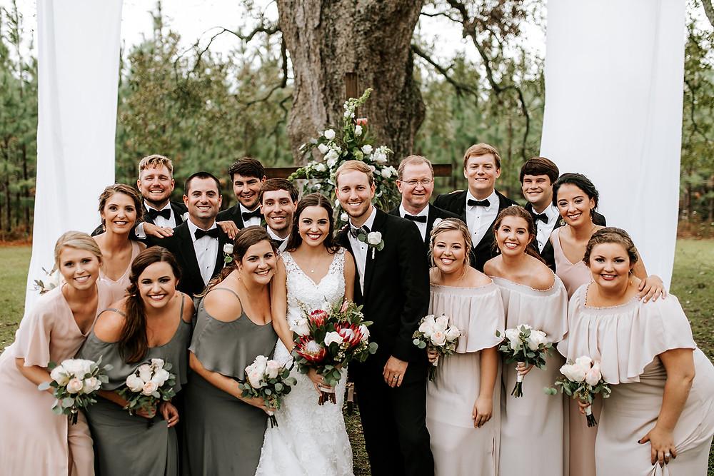 Wedding Party (c) AshlynCatheyPhoto